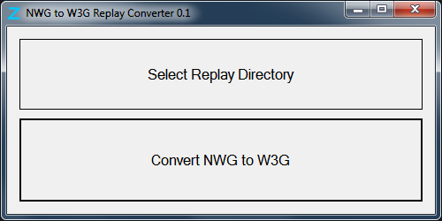Конвертер реплеев NWG в W3G для Warcraft III